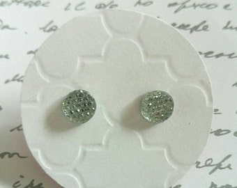 ON SALE Multi Faceted Rhinestone Studs- Surgical Steel Posts