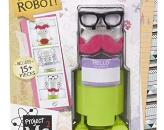 Project Mc2 Soda Can Robot, Do-It-Yourself Robot,