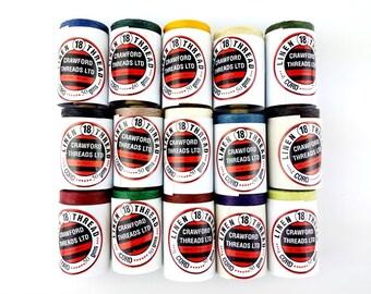 Crawford Waxed Linen Thread 4 Ply