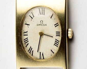 14K Yellow Gold Omega Watch 620 Movement