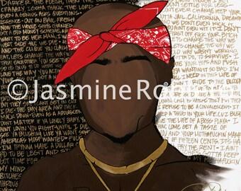 """print """"Tribute to Tupac"""""""