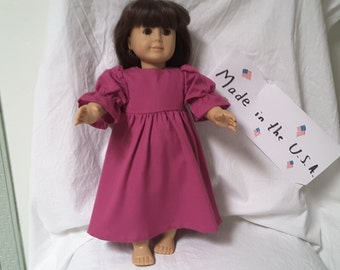 18 inch handmade doll dress