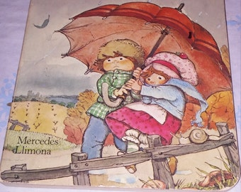 The Season's Of Strawberry Shortcake by Mercedes Limona copyright 1980