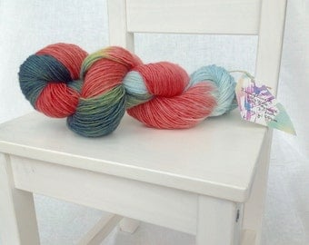 Handefärbtes yarn lace yarn 3-