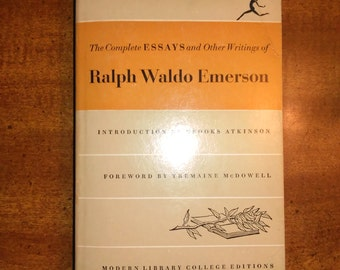 "education essay by emerson Emerson returned to the topic of education late in his career in ""education in his earliest essays on emerson the journals of ralph waldo emerson."