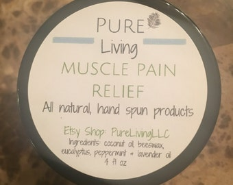 Muscle Pain Relief  - this works SO GOOD!
