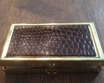 Miniature Vintage pill box