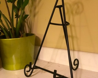 Display Easel for Rustic Paintings and Woodburned Signs (Rustic Home Decor)