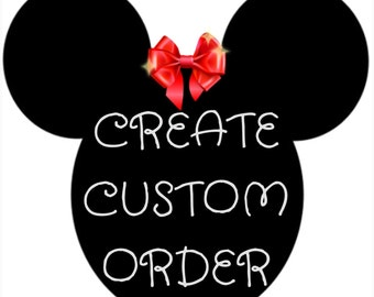 Create a custom pair of standard ears; contact shop owner.