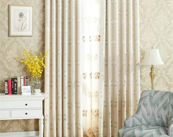 Cartoon Curtain For Childrencurtains Living Roomcurtainssheer Curtainskitchen