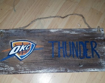 OKC Thunder  sign
