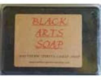 2.5oz Black Arts soap