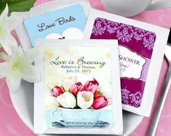 Wedding Favor Tea, Personalized Tea Favors, Tea Wedding Favors, Bridal Shower Tea, The Perfect Blend - Set of 30