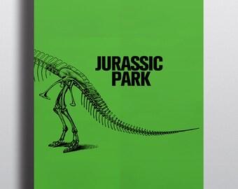 Jurassic Park Minimalist Graphic Movie Inspired Poster