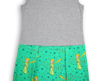 The Little Prince Pocket Play Dress Gray