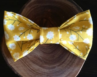 Yellow Flower bow