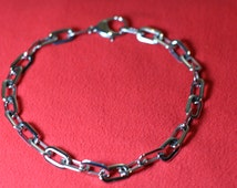 Stainless Steel Chain Necklace/Discreet Collar