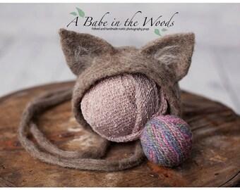 Newborn Kitty hat