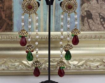 Indian Chandlier earrings