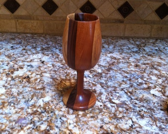 Handcrafted Wood Wine Glass