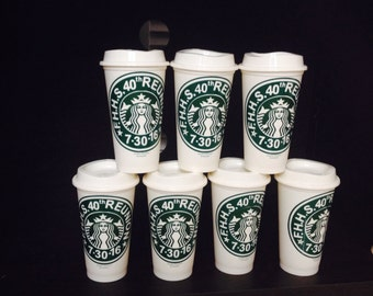 Starbucks BPA free custom design cups for all occasions