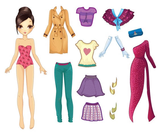 Dress Up Girl Activity Pack - Ruby - MagReceptive