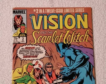 Vision & the Scarlet Witch #2 of 12 (1985)