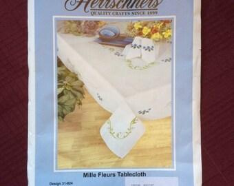 """Mille Fleurs Tablecloth 60"""" x 120"""""""