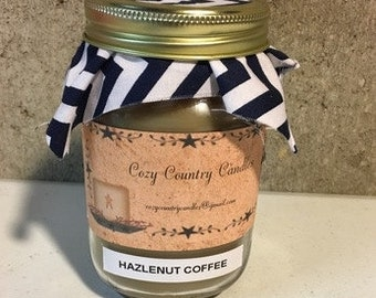 Hazelnut Coffee 16 oz candle