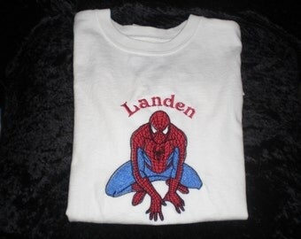 Personalized Spiderman Shirt