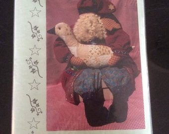 Santa and the Quilted Goose pattern