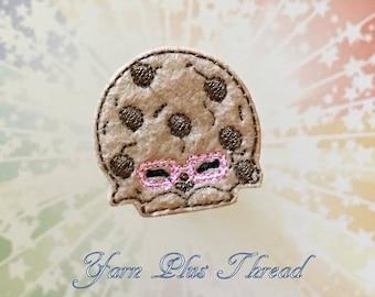 Cookie Feltie Embroidery Design