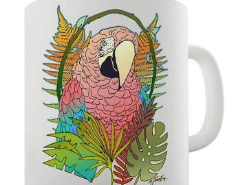 Rainbow Lorikeet Parrot Ceramic Mug