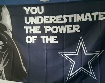 Dallas Cowboys Dark vader flag