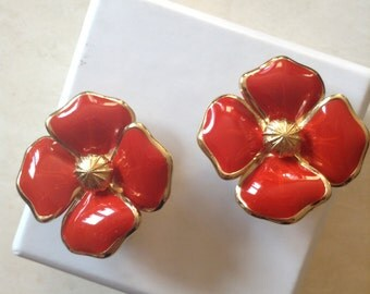 Christian Dior vintage clip earrings/Ohrringe