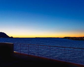 Sunset... bedroom (sea, dark, silhouette, fineArt)