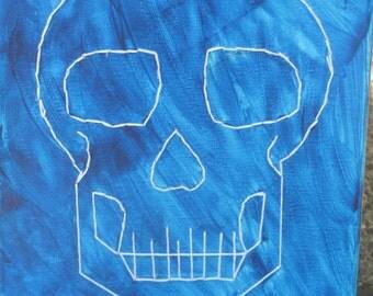 Rocking Blue Skull
