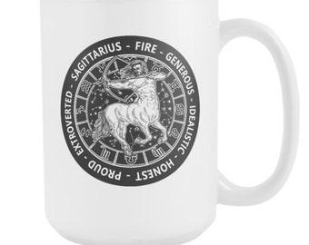 SAGITTARIUS Zodiac MUG 15oz
