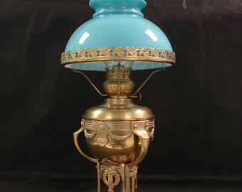 French Art Deco Parlor Lamp