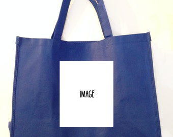 Customized Tote Bag (with your pet's portrait)