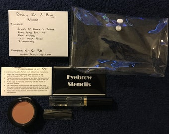 Blonde Brow in a Bag Kit