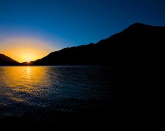 Lake Crescent, Washington