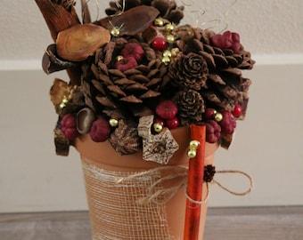 Rusty Floral Arrangement