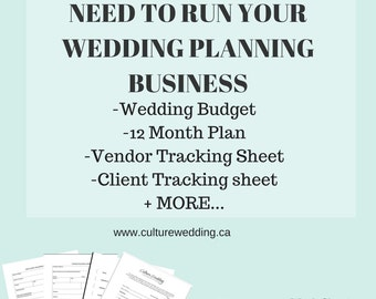 Wedding Work Sheet Templates