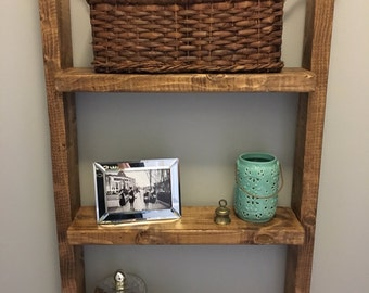 Hanging Wooden Shelf