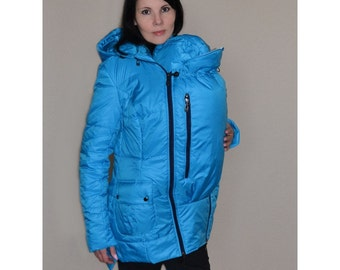 FREE SHIPPING! 3 in 1 Pregnancy Coat/Jacket Baby Carring, Baby and Mother Coat, baby carrying jacket, baby carrying coat