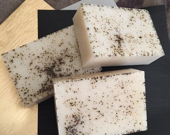 Goat Milk-Coffee Soap (3 bars for 7.95)
