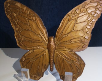 Homco Gold Butterfly