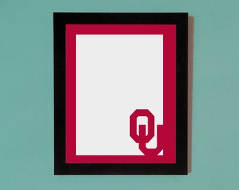 Oklahoma Sooners Picture Frame Mat