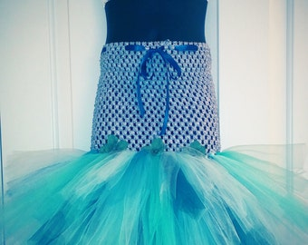 Mermaid Tutu Costume Size 4T - 5T